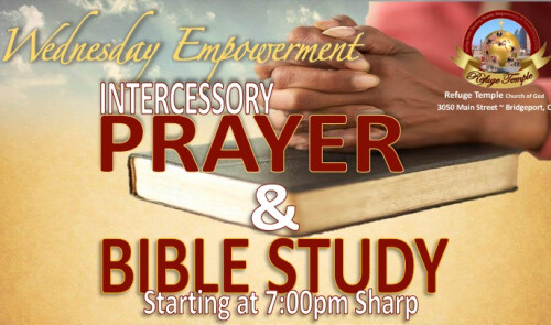 Join Us on Wednesdays at 7:00p.m.